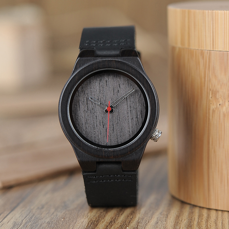 BOBO BIRD women bamboo wooden Watches quartz wristwatch with leather band ladies in Gift Box custom logo bobo bird women wooden bamboo watches ladies quartz watch gift for girl in wood box custom logo