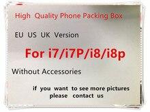 10 штук в наборе высокое качество US/EU версия чехол для телефона упаковочная коробка чехол для телефона iPhone 7 Plus/7 P/8/8 P без аксессуаров пустой посылка коробка