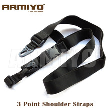 Тактический armiyo 3 точечный пистолет плечевые ремни Пояс для винтовки банджи AK m16 шлейки Миссия Слинг охотничьи сумки аксессуары