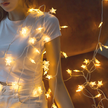 10M 20M 30M 220V EU Plug Outdoor 8 Mode LED Christmas Garland Tree Star String Fairy Lights For Party Holiday Wedding Decoration led decorative street garland string fairy light 10 20m 30m decoration for christmas tree garden wedding new year holiday lights