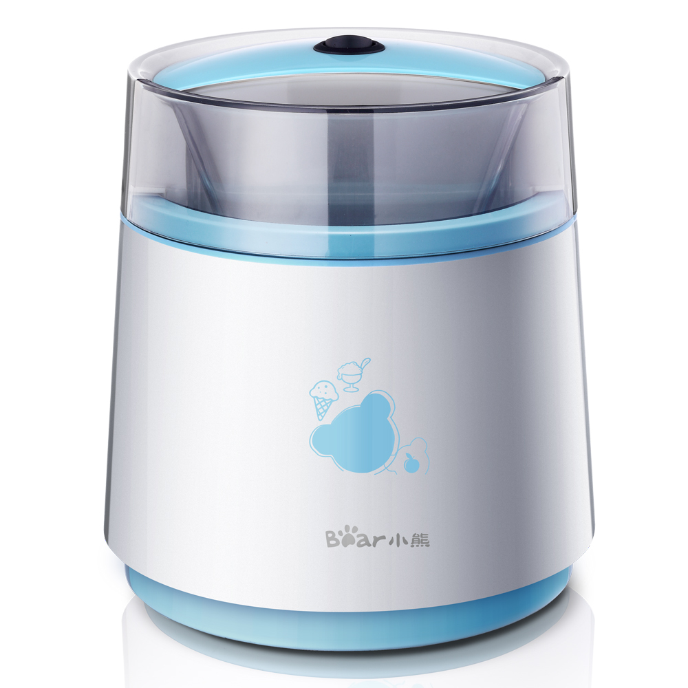 Bear Household Automatic Mini Fruit Ice Cream Maker Lovely Kitchen Appliances fruit ice cream feeder from factory selling gelato fruit nuts mixer