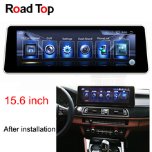 15 6 Android 6 Car Radio GPS Navigation Head Unit Screen for BMW F10 F11 520i