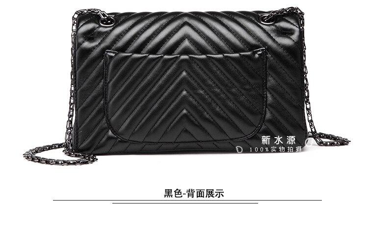 Free Shipping High Quality Chain Bag Women Shoulder Bag Messageer Bag Hot Sale Bag Black Bag Classic Chain Bag