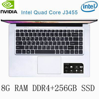 נייד גיימינג ו P2-35 8G RAM 256G SSD Intel Celeron J3455 NVIDIA GeForce 940M מקלדת מחשב נייד גיימינג ו OS שפה זמינה עבור לבחור (1)