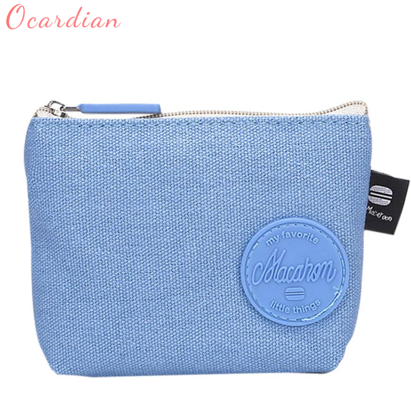 2018Ocardian Fashion New Women Girls Cute Fashion Coin Purse Wallet Bag Change Pouch Key Holder Wallet for gift giving hotC0306 thinkthendo 3 color retro women lady purse zipper small wallet coin key holder case pouch bag new design