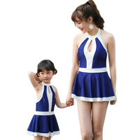 Maggie S Walker New Mother And Daughter Family Belly Show Thin Swimsuit Children Summer Swimwear For
