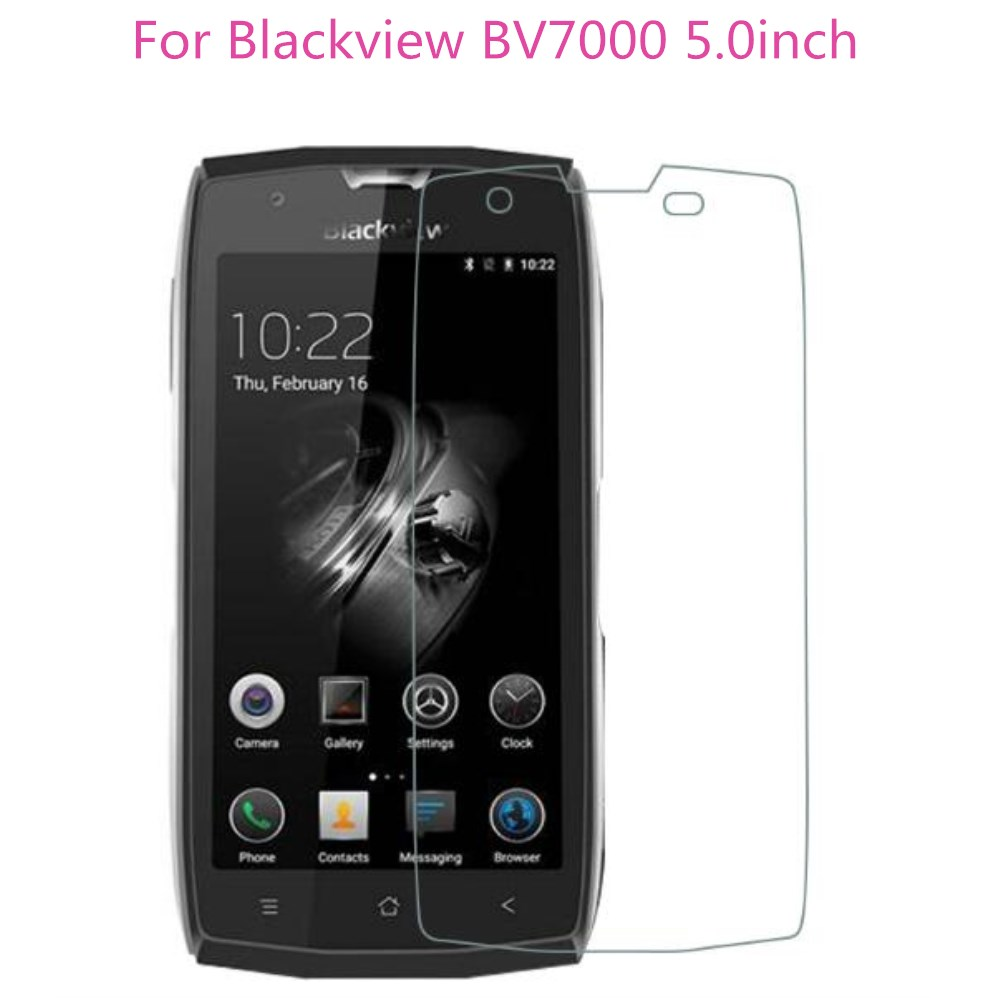 For Blackview BV7000 Pro Tempered Glass 9H Scratch Proof Screen Protector Film For Blackview BV7000 5.0inch Smartphone