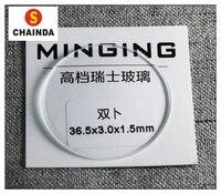 Hohe Qualität 1 5mm Dicke Doppel Dome Konkaven Runde Transparent Mineral Glas von 20mm bis 40mm für Uhr reparatur-in Reparatur-Werkzeuge & Kits aus Uhren bei