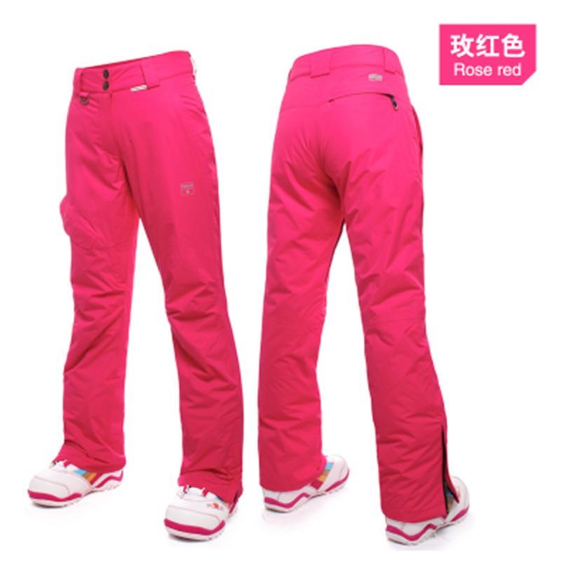 84ccc9682a Saenshing Winter Ski Pant Women Snow Pants waterproof Ski Trousers Women  High Quality Winter Ski trousers female Snowboard Pants