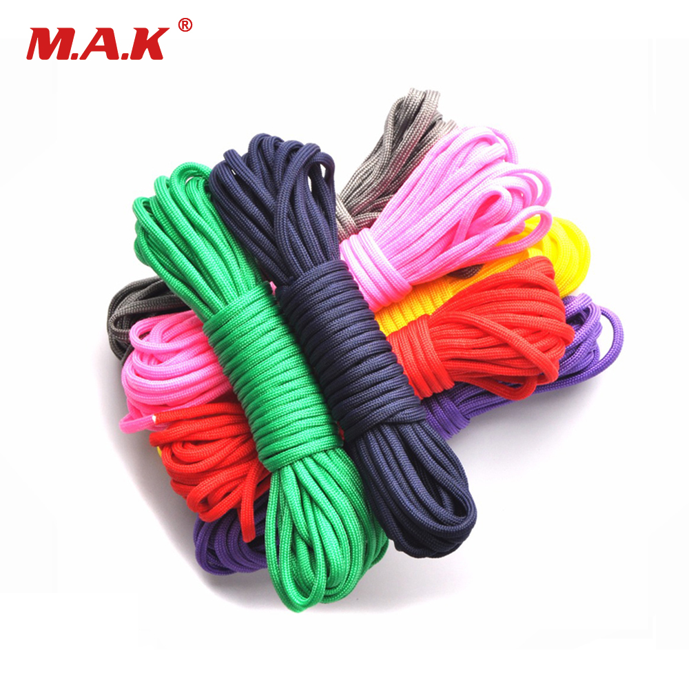 550 Paracord Mil Spec Type III Stand 7Core Parachute Cord Lanyard Sports Survivl