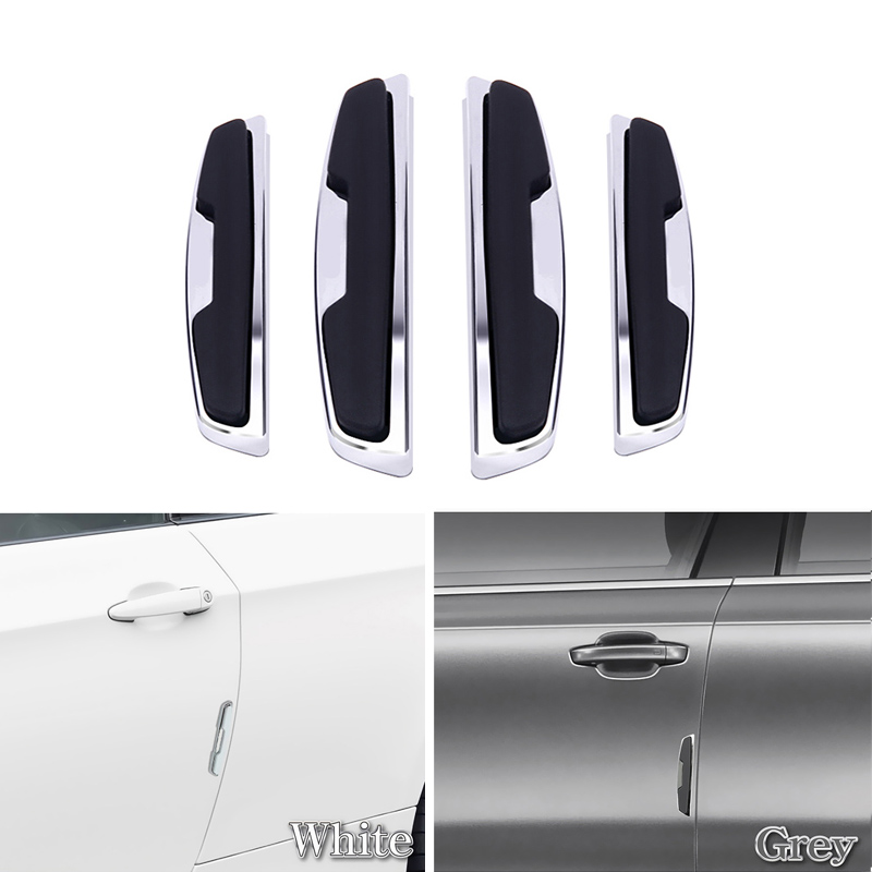 car door side protector anti collision bar paste strips. Black Bedroom Furniture Sets. Home Design Ideas