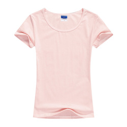 2018 Summer High Quality 15 Color S-2XL Plain T Shirt Women Cotton Elastic Basic Tshirt Woman Casual Tops Short Sleeve T-shirt 4