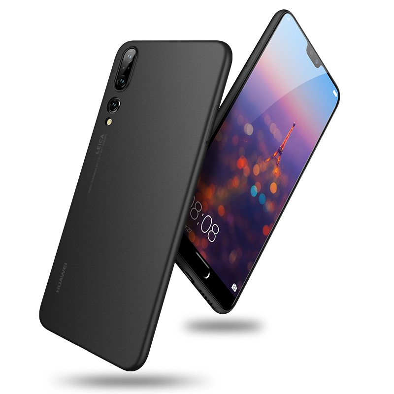 Luxury Ultra Slim Phone Case For <font><b>Huawei</b></font> <font><b>P20</b></font> <font><b>pro</b></font> Black Soft Silicone TPU Phone Cover For <font><b>huawei</b></font> <font><b>p20</b></font> <font><b>smartphone</b></font> case Protection image