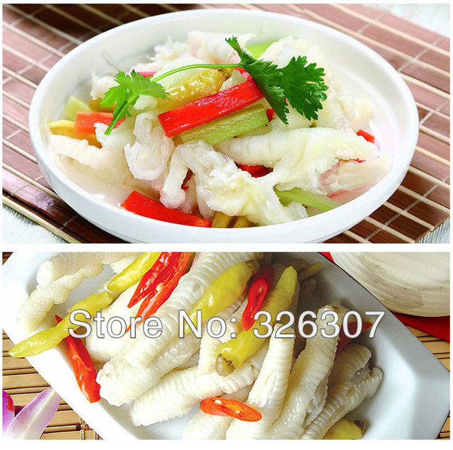Pickle Chicken Legs Chinese Snacks Pickled Chicken Feetpepper