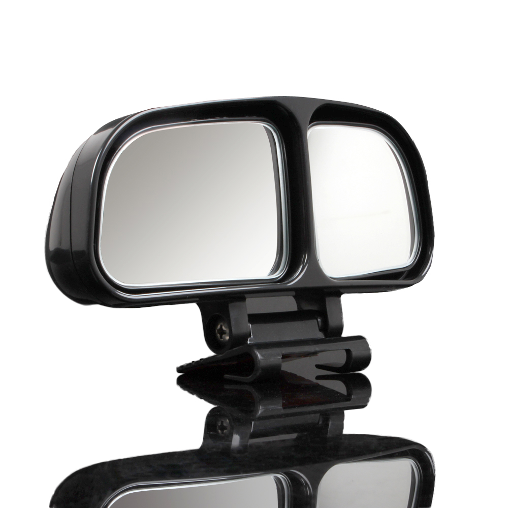 Black 2pcs vehicle car side rearview blind spot mirrors for Square mirror