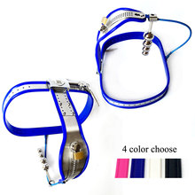 female chastity belt 4 anal beads plug stainless steel Adjustable Chastity Device Lock Adult bdsm bondage sex toys for woman цена
