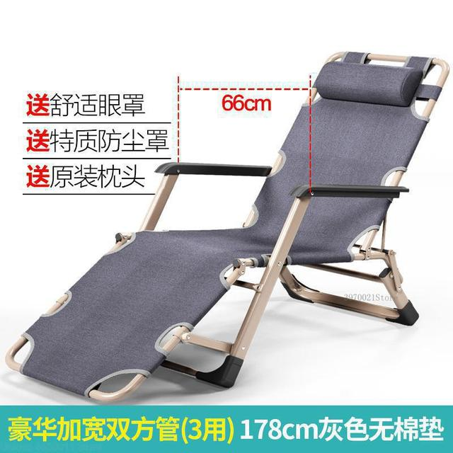 US $55.95 29% OFF|Outdoor or indoor adjustable nap recliner chair folding deck chair Beach chair with Steel Pipe frame Moisture absorption|Sun