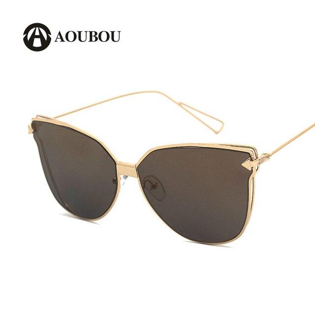 f4373ed5b0c1c AOUBOU Óculos de Sol Borboleta Preta