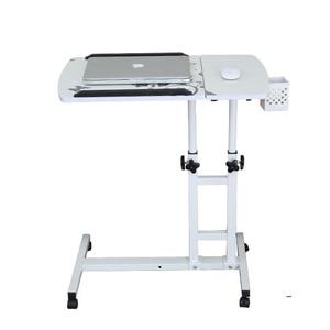 Image 1 - คอมพิวเตอร์พับได้ตารางปรับ & โต๊ะแล็ปท็อปแบบพกพาหมุนแล็ปท็อปตารางสามารถยกยืนโต๊ะคีย์บอร์ด