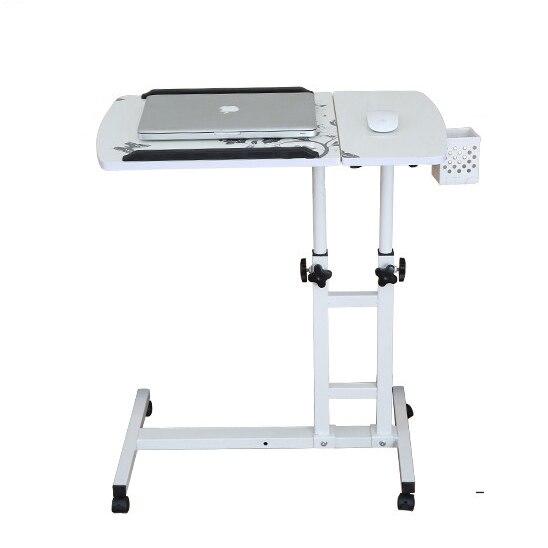 คอมพิวเตอร์พับได้ตารางปรับ & โต๊ะแล็ปท็อปแบบพกพาหมุนแล็ปท็อปตารางสามารถยกยืนโต๊ะคีย์บอร์ด