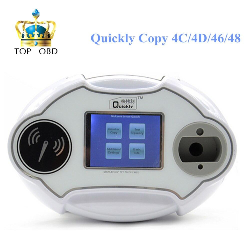 Quickly 4C/4D/46/48 Code Reader Chip Transponder Auto Key Programmer V2.14.8.16 Quickly 4C/4D/46/48 Machine
