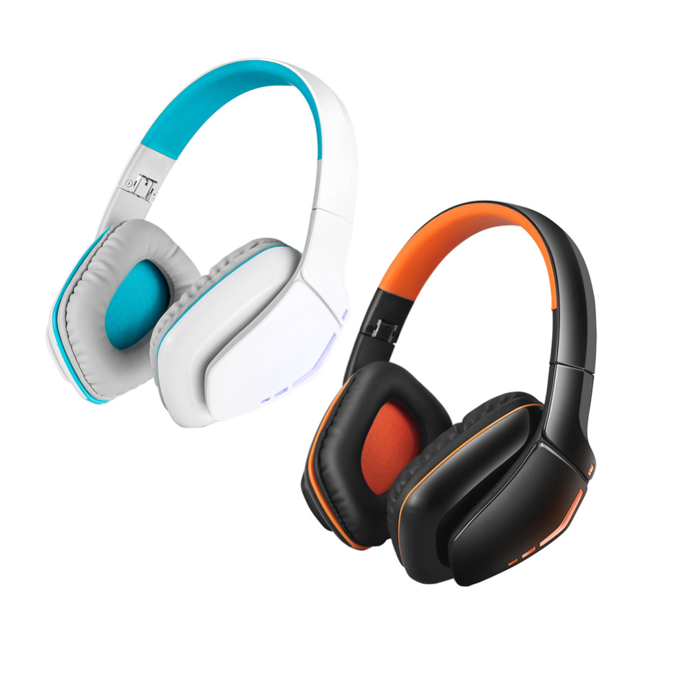 1 Pc New B3506 Wireless Bluetooth 4.1 Stereo Gaming Headphone Hands Free Headset with LED Light for Pro Gamer 2 Colors each g1100 shake e sports gaming mic led light headset headphone casque with 7 1 heavy bass surround sound for pc gamer