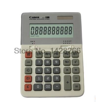 1 Piece Canon LS-1000H School & Office Business Desktop Commercial Calculator 10-digits Large Screen Display