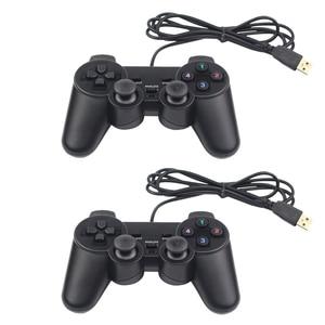 Image 2 - USB غمبد سلك Joypad أذرع التحكم في ألعاب الفيديو الرجعية عصا التحكم ل التوت بي 4 نموذج B التحديثية نيسبي الكمبيوتر MEGAPi SUPERPi