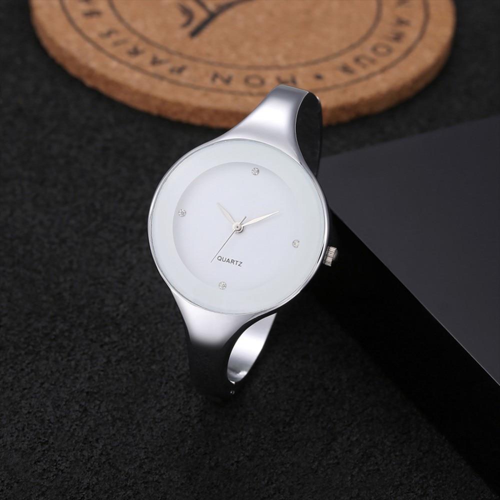 Relogio Feminino Women Bangle Watches Fashion Stainless Steel Strap Female WristWatch Ladies Watch Reloj Mujer Watch For Women