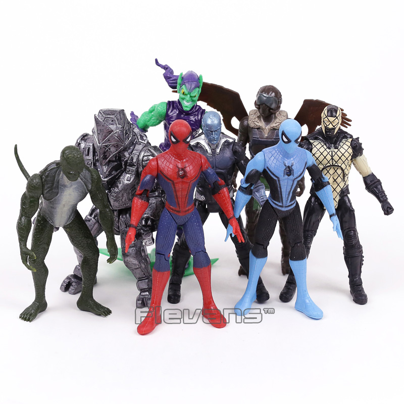 Action Toys For Boys : Marvel spiderman villains vulture green goblin lizard