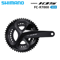 SHIMANO 105 FC R7000 2x11s 50x34/52 36/53x39T 170/172.5/175mm Crankset Hollow Tech Bicycle Road Bike Chain Wheel