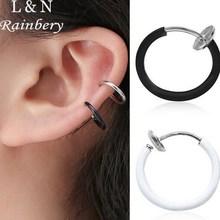 Rainbery 5 Pcs / Lot Fake Nose Ring Goth Punk Lip Ear Nose Clip