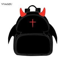 Seraph of the End Cosplay Backpack Mochila Cartoon Anime Krul Tepes Punk Stylish PU Devil Schoolbag