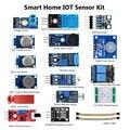SmartHome Sistema IOT Internet das coisas 16 Kits De Sensores para Arduino Raspberry Pi3