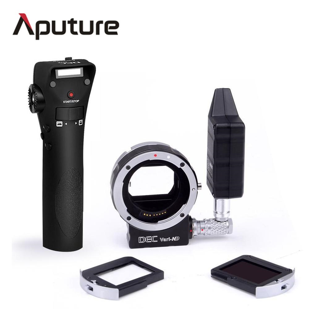 Aputure New DEC Vari ND for E mount Wireless Remote Adapter For Canon E mount cameras