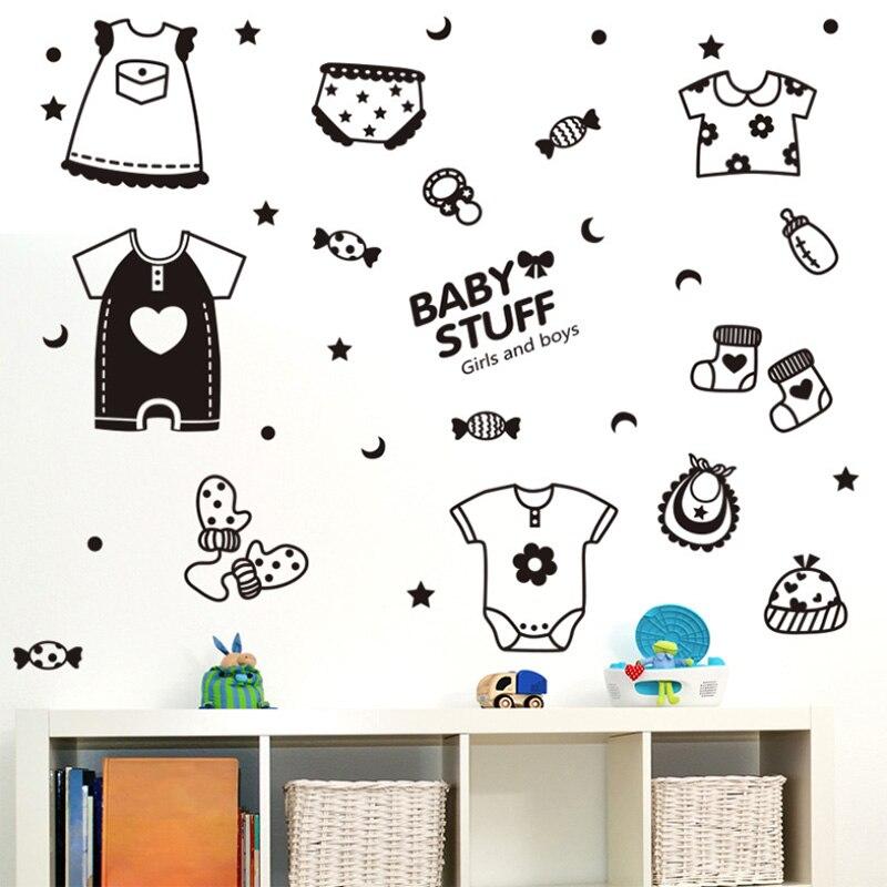 Мультфильм творческий детские вещи наклейки Дети Спальня Фоновые украшения Водонепроницаемый самоклеящиеся наклейки