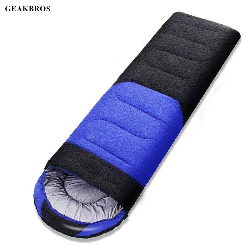 1.6kg/1.8kg Ultralight Envelope Sleeping Bag Outdoor Camping Duck Down Sleeping Bag Comfortably Goose Down Sleeping Bag 210*80cm