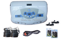 Health and beauty care Dual ionic detox foot spa machine with music function ion cleanse equipment wholesale 4pcs/lot