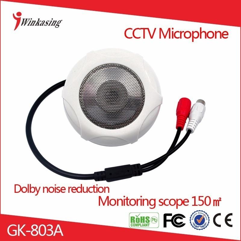 free shipping 3pcs  CCTV  micophone sound monitor  audio pick up  audio monitor  for  cctv camera  voice видеорегистратор artway av 321 artway av 321