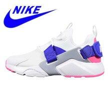 hot sale online 4234c e54cf Nike Air Huarache City Low zapatos para correr para mujer, absorbente de  golpes transpirable antideslizante ligero, blanco y azu.
