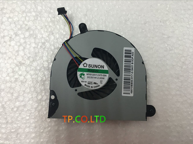 Genuine New Free Shipping MF60150V1-C000-S9A COOLING FAN For HP 6560B 6565B 8460P 8460W 8560P 8560W Series CPU Cooling FAN