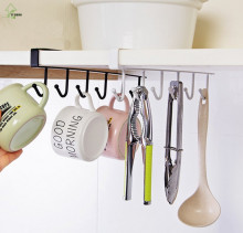 Iron Kitchen Storage Rack Cupboard Hanging Hook Shelf Dish Hanger Chest Storage Shelf Bathroom Organizer Holder Chest Storage