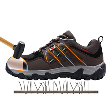 Breathable Multifunction Steel Toe Hiking Shoes