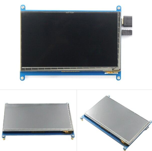7 inch HDMI LCD display monitor Raspberry pie 3 generation of Raspberry Pi3 exceeds 1024*600 buy monitor hdmi