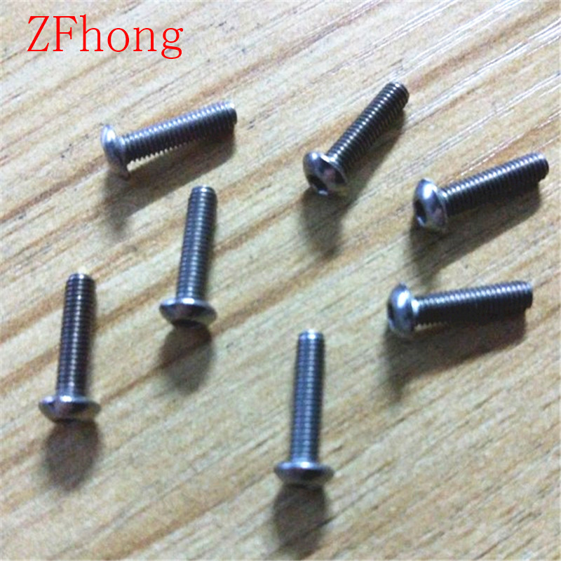 50PCS  iso7380 M3*6/8/10/12/15/20/25/30 pure titanium button head screw 7380 fan7380 sop 8
