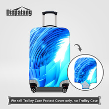 Dispalang Case On Suitcase Women Men Luggage Protective Cover For 18-30 Inch Suitcase Stretch Elastic Dust Rain Travel Accessory