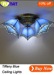 Tiffany Blue Ceiling Lights