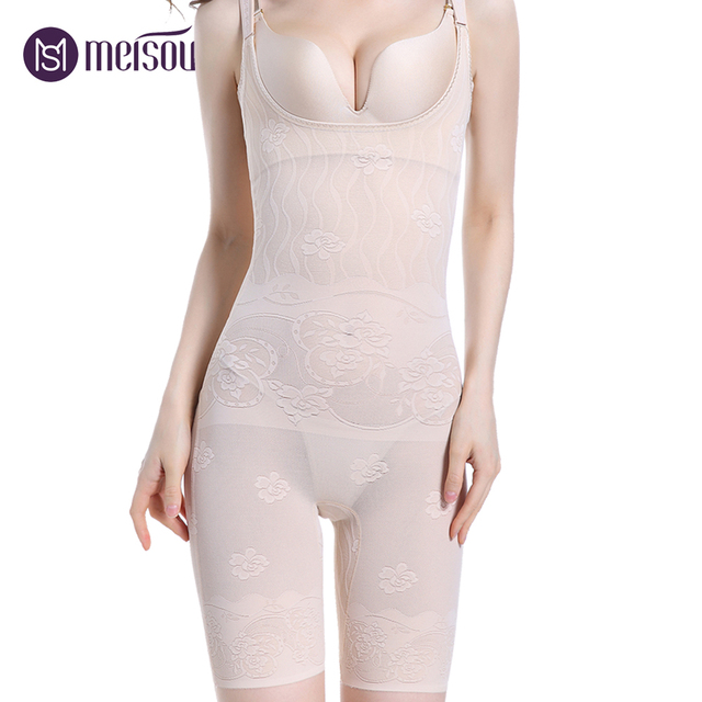 6c9a0a611b5c7 Women Large Sexy Bodysuits Slimming Butt Lifter Body Wear Shapewear Ladies  Perfect Breathable Body Shaper Suit Trimmer Pants