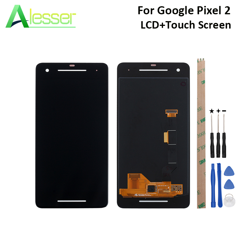 Alesser For Google Pixel 2 LCD Display And Touch Screen Screen Digitizer Assembly Replacement For Google Pixel 2 +Tool +AdhesiveAlesser For Google Pixel 2 LCD Display And Touch Screen Screen Digitizer Assembly Replacement For Google Pixel 2 +Tool +Adhesive