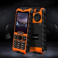 Huadoo IP68 waterproof mobile phone FM flashlight torch support swimming shockproof dustproof outdoor rugged Telephone P191